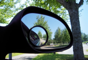 You Only See the Past in The Rear View Mirror