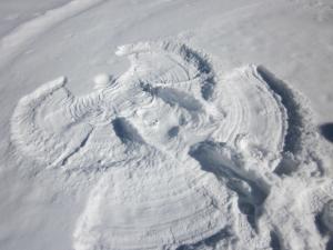 It's Fun Making Snow Angels